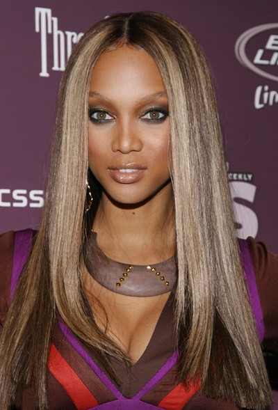 Tyra Banks Lace Front Wig