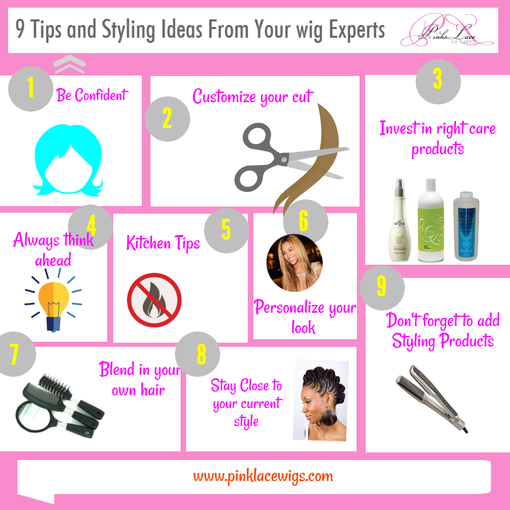 9 Tips And Styling Ideas From Your Wig Experts Pink Lace Wigs