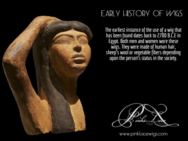 Early history of wigs